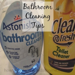 Tips On How To Clean A Bathroom