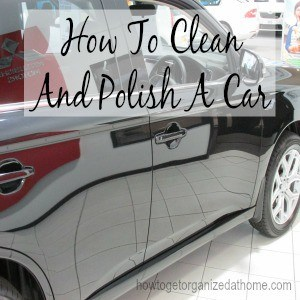How To Clean And Polish A Car