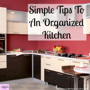 Organize your kitchen with these tips and ideas!