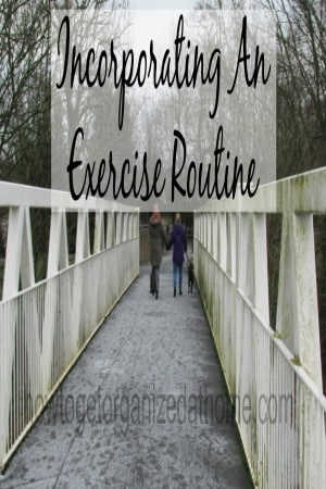 Incorporating An Exercise Routine