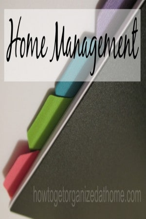 Home Management Files