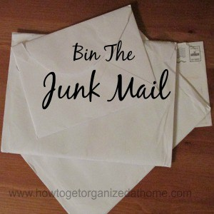 Opting Out Of Junk Mail
