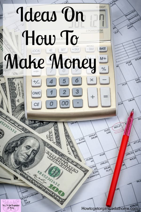 If you are looking for ideas on how to make more money, it might be a short-term solution or something that is long-term to make a better life for your family!