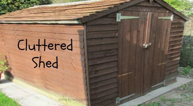 Shed: De-clutter It