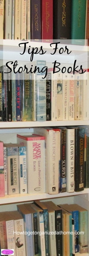 Storing books correctly can ensure they will last, but there is more to book care than just leaving them on a bookcase. Click the link to see how I do it!