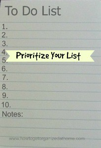 Tackle The To Do List