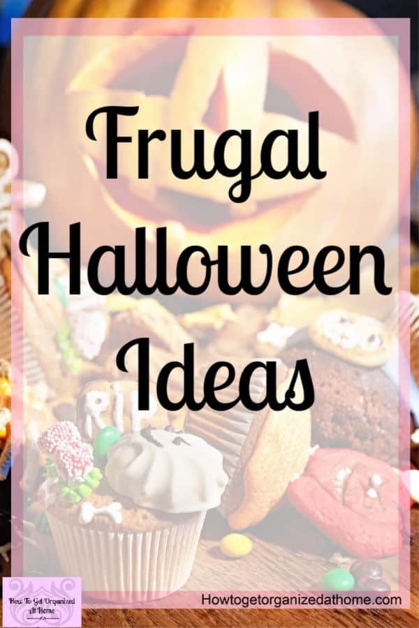 Have fun with Halloween with these simple and easy frugal Halloween ideas that will help you control your budget! Make Halloween affordable this year!