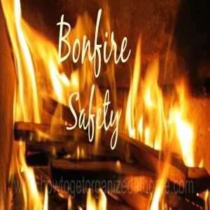Bonfire Garden Safety