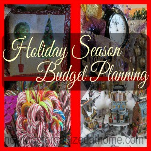 Budgeting For The Holiday Season