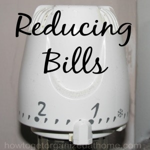 Reducing The Cost Of Bills