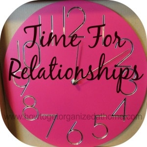 Investing Time In Relationships