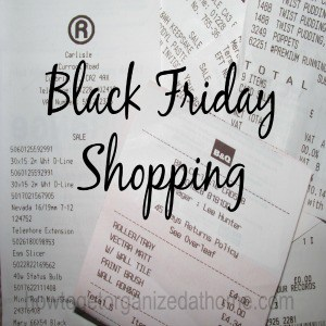 Planning Your Black Friday Shopping
