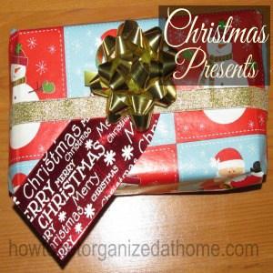 Budgeting For Christmas Presents