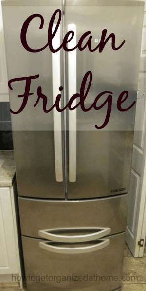 It is important to keep your fridge clean, it reduces the germs that can make our families ill and it can ensure that you use up food before it goes bad.