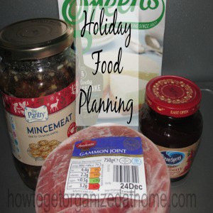 Planning Holiday Food Shopping