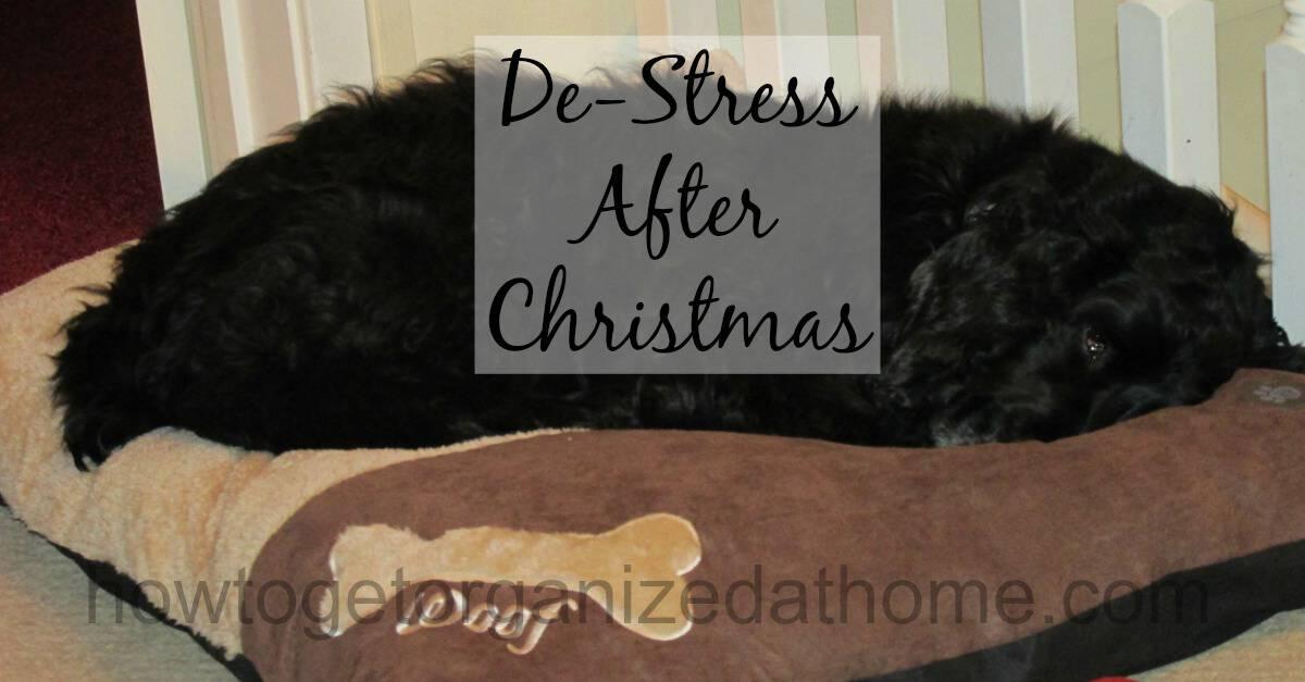 De-Stress After Christmas