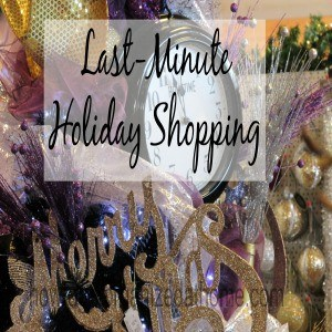Last-Minute Holiday Shopping