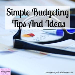 Find tips and ideas on how to create a budget that will help you set your goals this year!