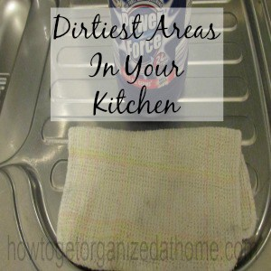 10 Dirtiest Areas In Your Kitchen
