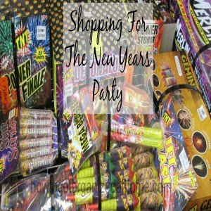 Shopping For A New Years Party