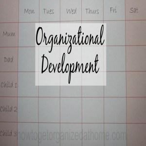 Improve Your Organizational Development
