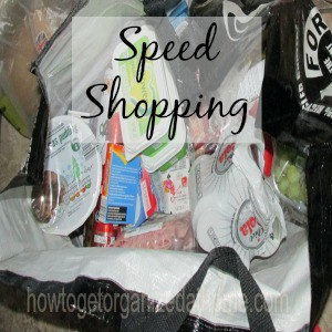 Shopping With Speed