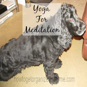 Using Yoga For Meditation