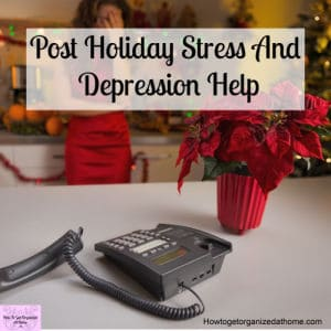 Combat your holiday stress and depression with these simple tips and ideas! Don't let it go unchecked!