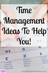 DIY daily planner ideas and tips on time management to get stuff done! Learn how to set goals and organize your day with these simple to use tips and advice!