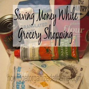 Saving Money While Grocery Shopping