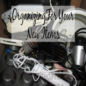 Organizing The New Items In Your Home