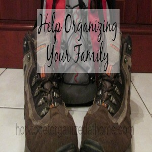 Help Organizing Your Family