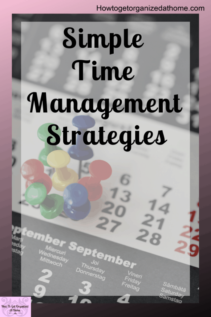 Time management strategies that will help you improve your day to day planning. Make the most of your day with these tips and ideas that will get you planning your day easily and effectively!