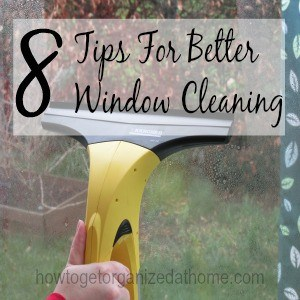 8 Tips For Better Window Cleaning