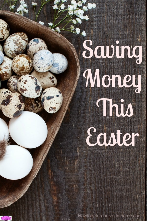 Saving money this Easter is not as difficult as you might think, it might take a bit of budgeting and some creative thinking but it is not impossible.