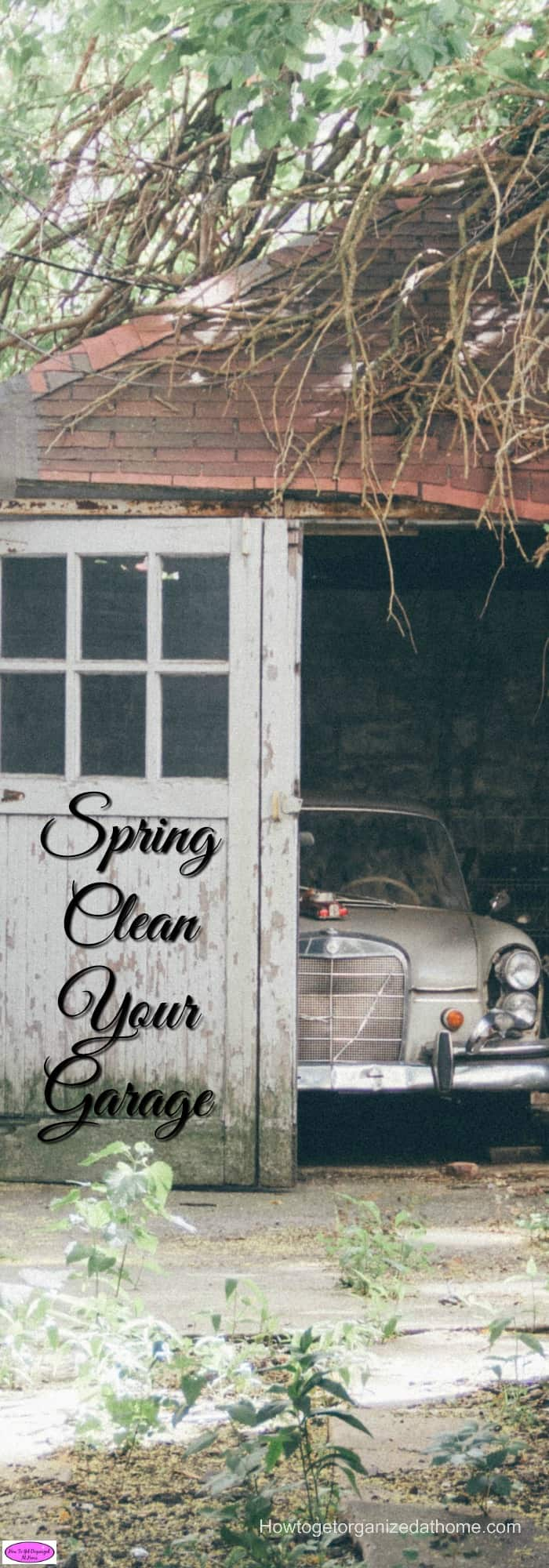 Spring clean your garage is a great way to check for any winter damage and to schedule in time for repair and maintenance issues.