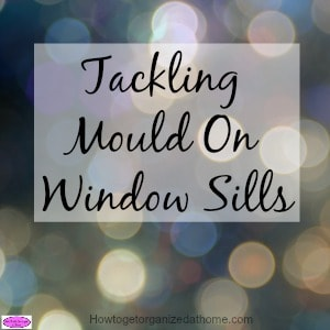 The best ways for tackling mould on window sills are found here! Removing mould from window frames and around the windows, STOP it Now!