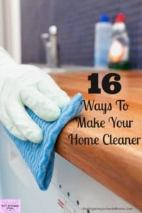 Do you need to make your home look cleaner? Or do you want to clean less? These tips will help!