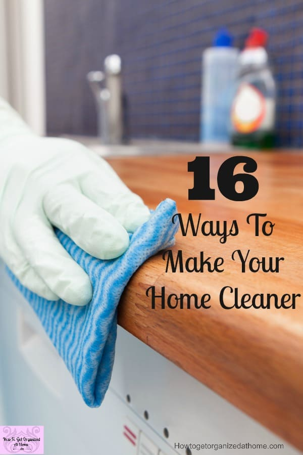 If you need simple ways to make your home cleaner you need to try these tips now!