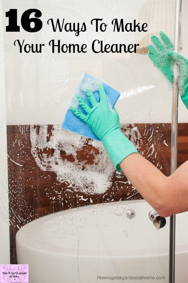 Are you looking to make your home cleaner? These tips will defiantly help!