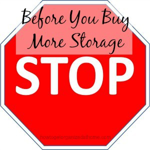Before You Buy More Storage
