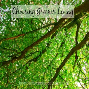Choosing Greener Living