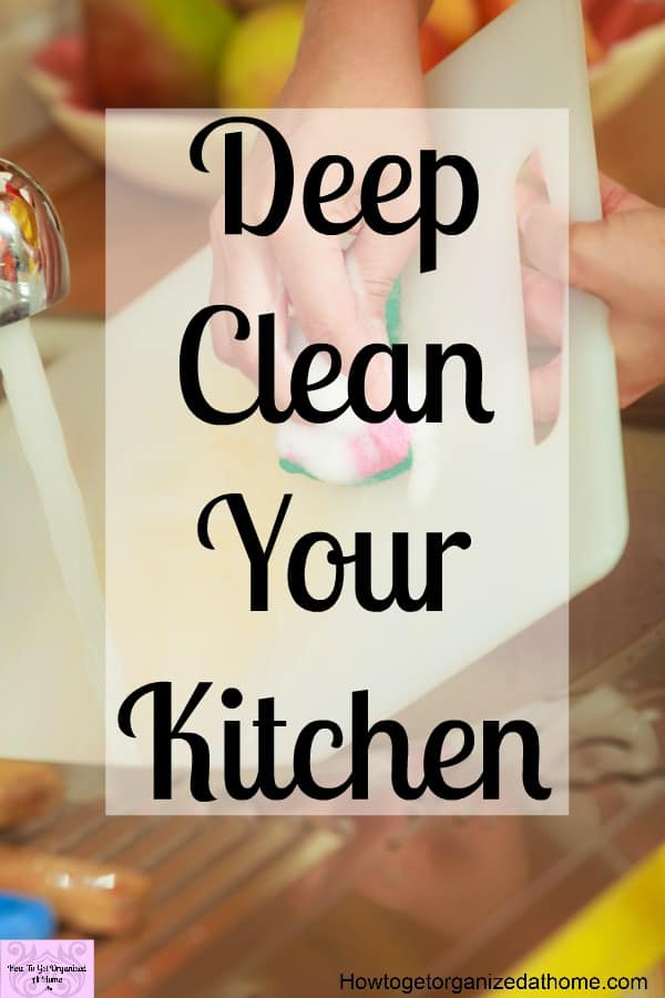 Learn to deep clean your kitchen with these tips and tricks to make your whole kitchen sparkle