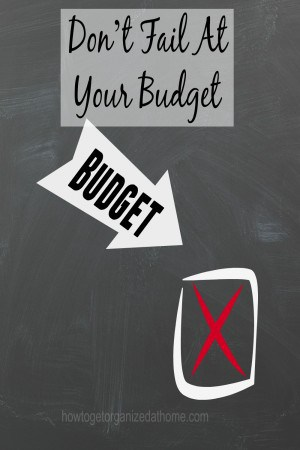 It takes time to control your budget effectively. It is not a skill you can learn quickly there will be set backs and problems every month, don't give up!