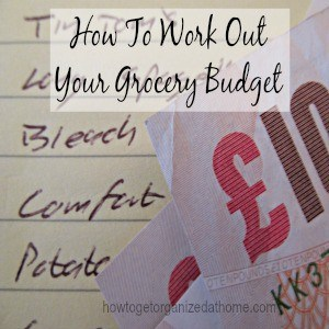 How To Work Out Your Grocery Budget