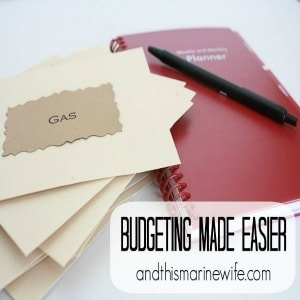 Budgeting Made Easier