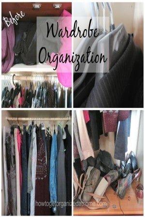 Have I Lost Control Of My Wardrobe Organization (Before)