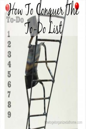 If you struggle with completing tasks, you might need to change how you create your to-do list. Too many items can mean disaster.