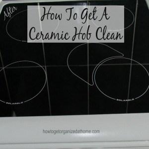 How To Get A Ceramic Hob Clean