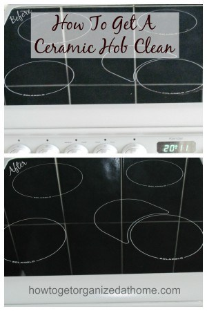 If you need to get a ceramic hob clean it isn't as difficult as you might think and you don't have to breathe in harmful chemicals in the process!